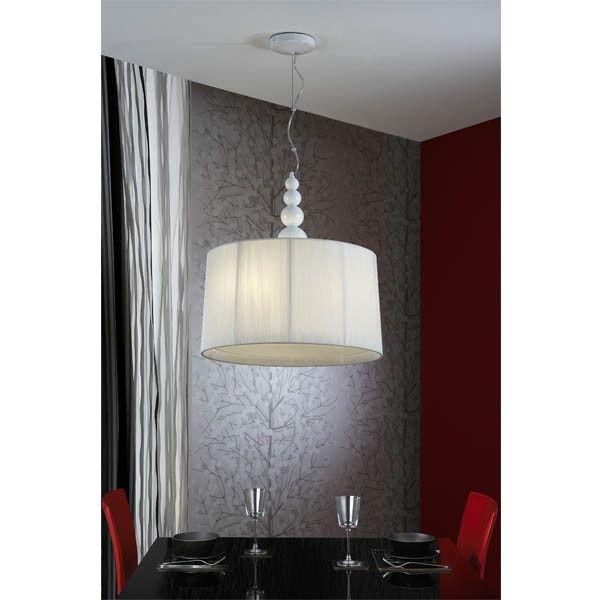 Elegante lámpara para comedor, tiene difusor en la parte de abajo ...