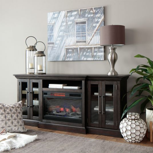 Beale In 2020 With Images Tv Console With Fireplace Fireplace