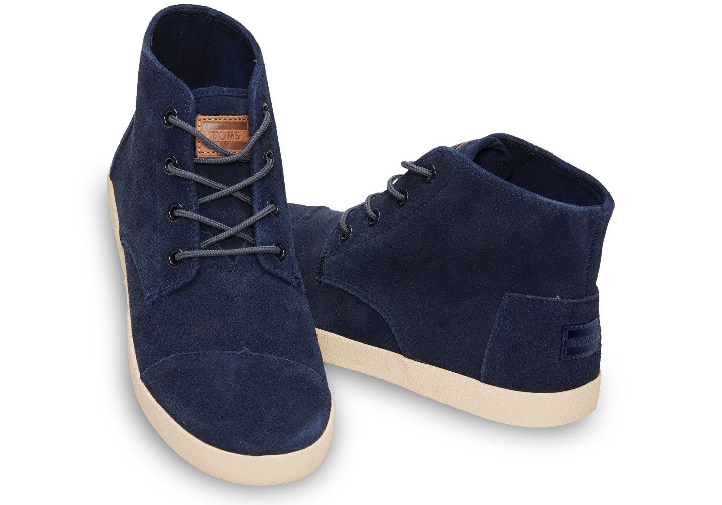 Toms Casual Shoes Paseos Navy Suede
