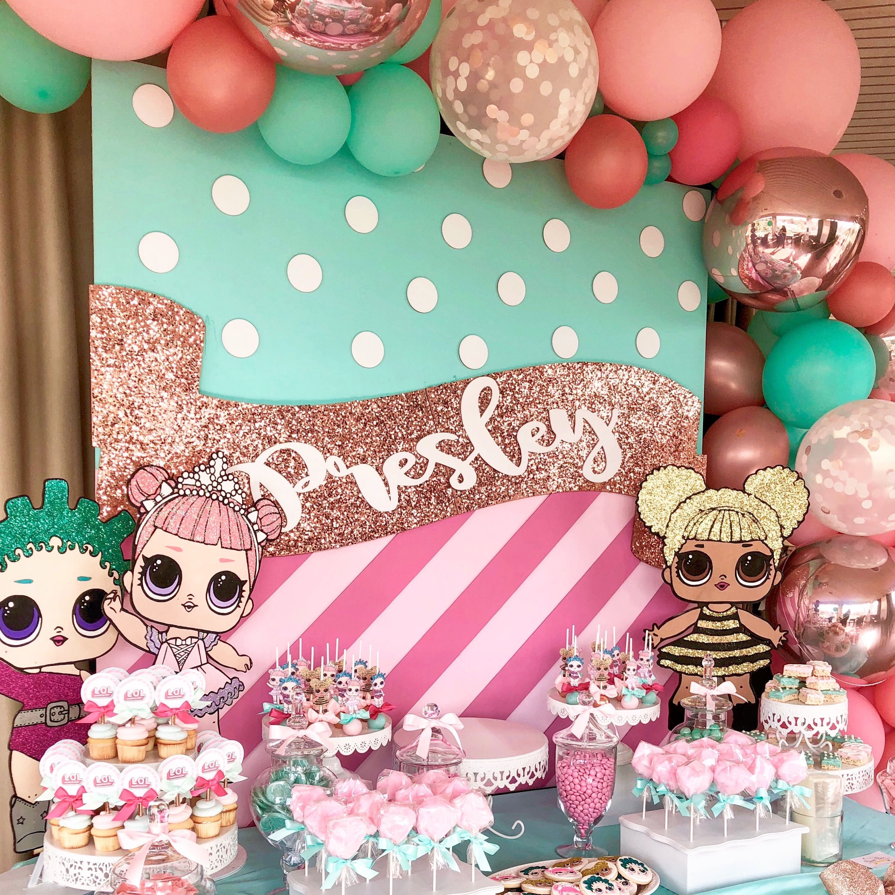 Lol surprise doll party by bizzie bee creations birthday