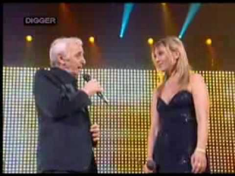 Charles Katia Aznavour Je Voyage Charles Aznavour Celebrites Grands Hommes