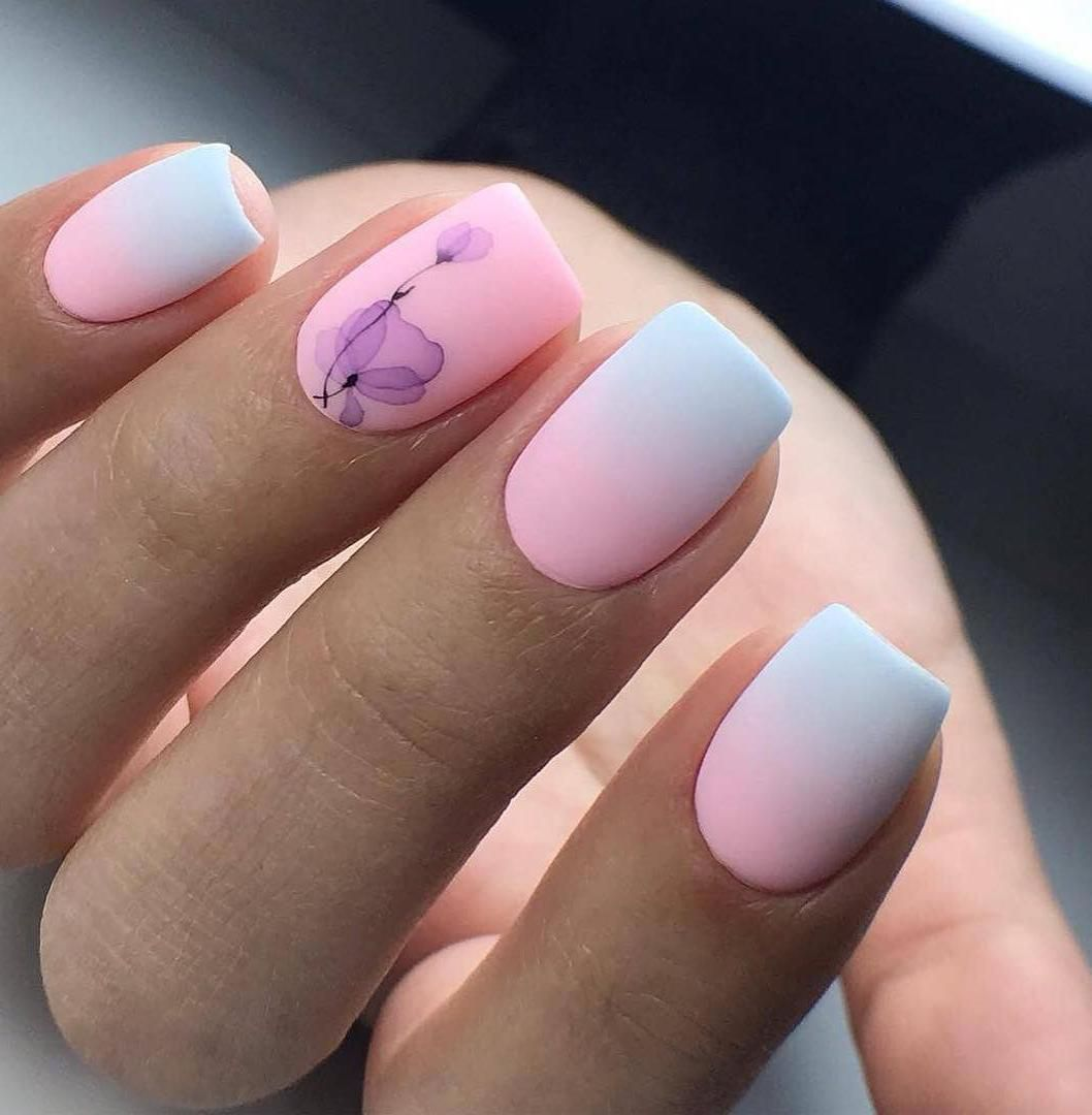 50 Trendy Stunning Manicure Ideas For Short Acrylic Nails Cute Nail Art Designs Square Nail Designs Short Acrylic Nails