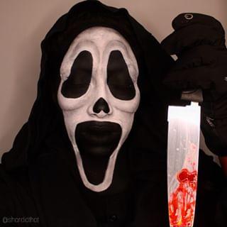 Mehron Makeup Mehronmakeup Ghost Face Scream Cosplay Makeup Look Zombie Face Makeup Ghost Faces Character Makeup