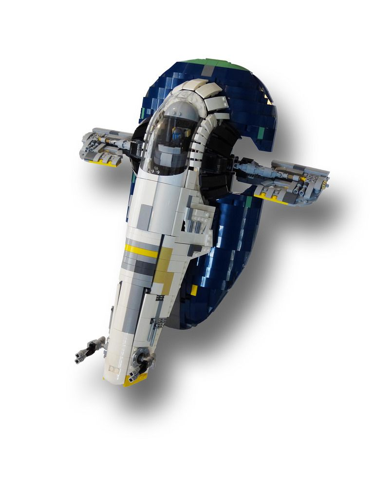 My custom Lego Star Wars Ultimate Collector Series Jango Fett Slave 1.