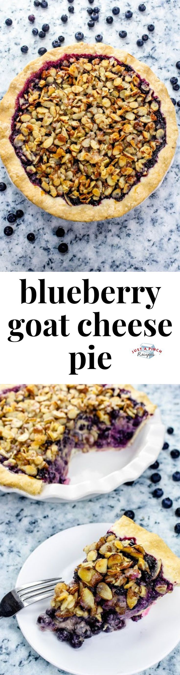 Goat Cheese Pie  - What's for Dessert? -