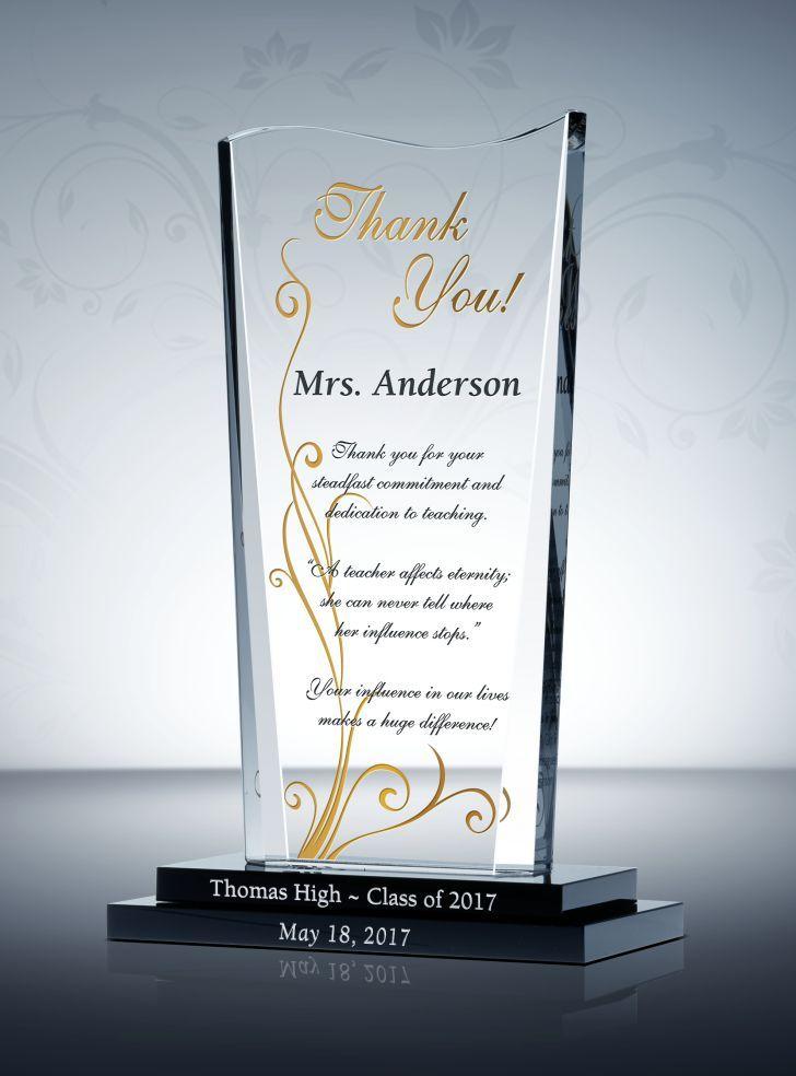 Wave Shaped Appreciation Award Plaque Graduation Gifts For Daughter Graduation Gifts For Him