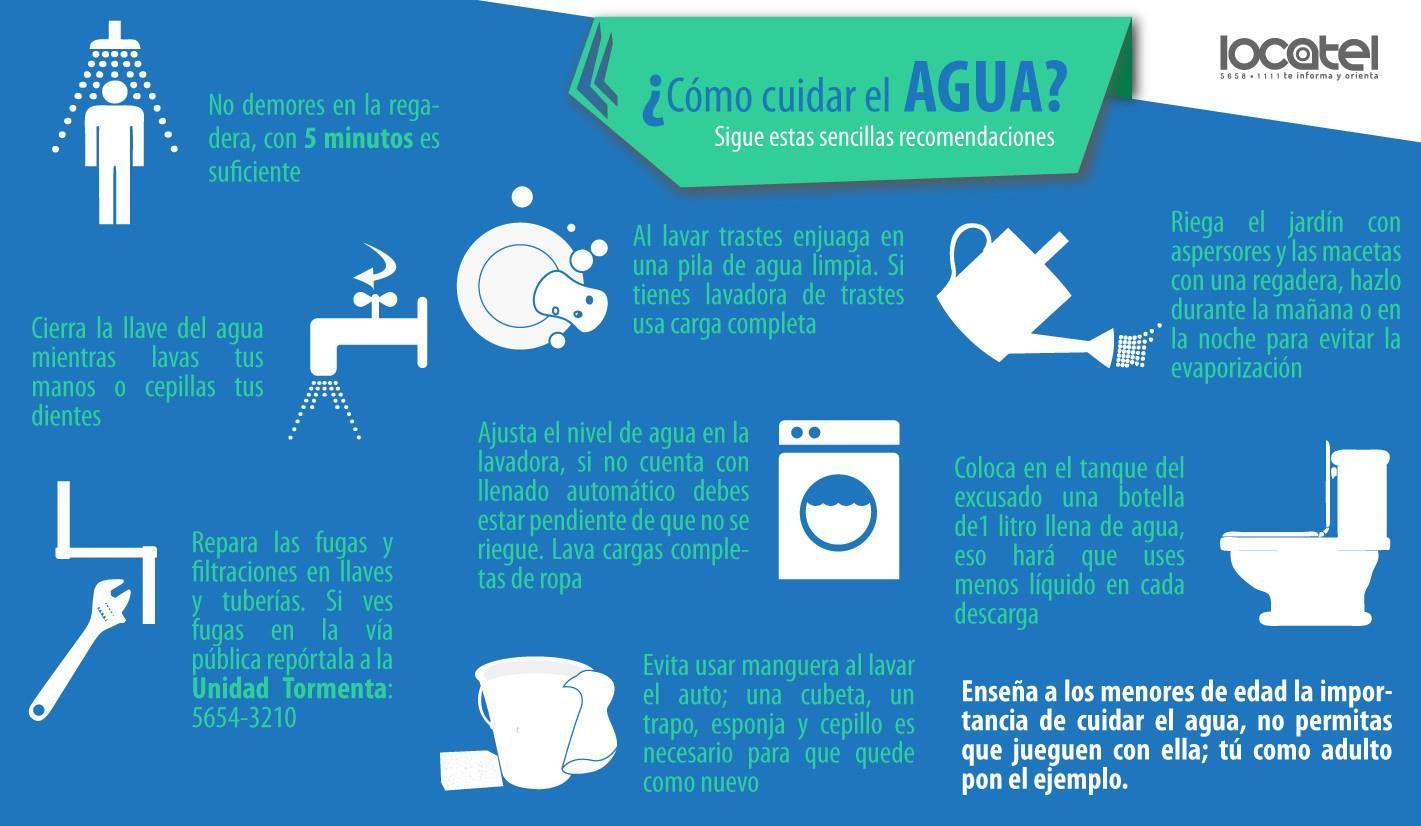 C mo cuidar el agua infografia ecoinfograf as - Que podemos hacer para ahorrar agua ...