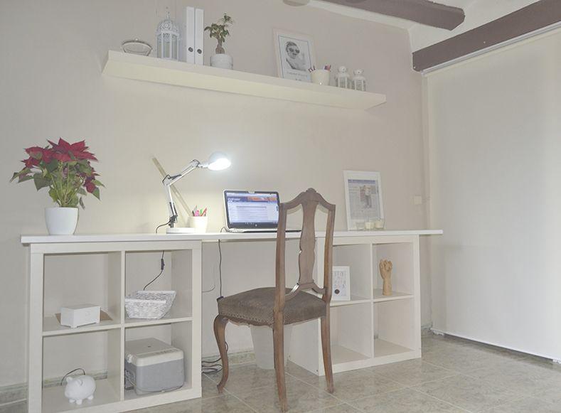 Resultado de imagen de escritorio con kallax dormitorio for Dormitorio kallax