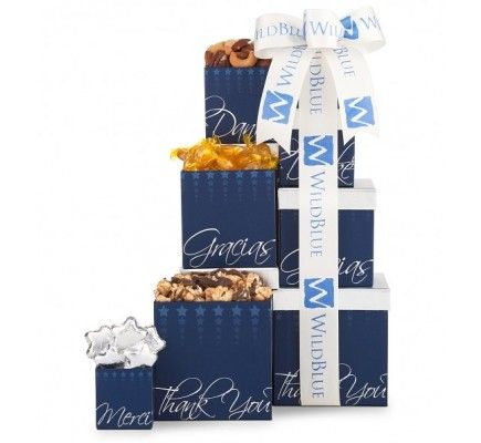 Thank You Gift Towers   11896 from Print EZ Express your gratitude  appreciation and thank you at various levels with these gift towers