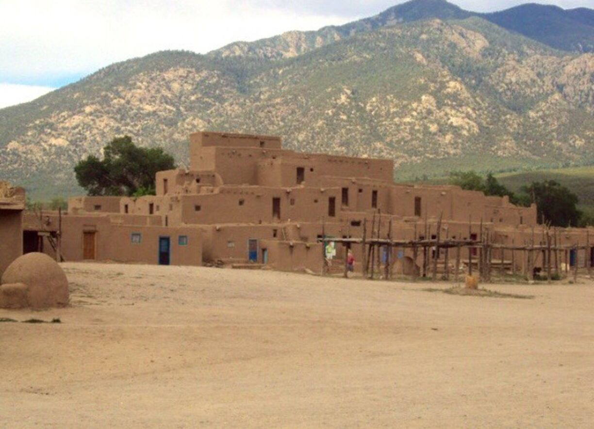 Visit Taos Pueblo, New Mexico - 50 Things to do in the USA ...  |Taos Pueblo New Mexico Usa