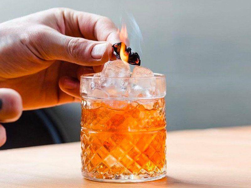 Cocktails werden jetzt gesmoked!