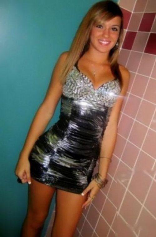 Black dress homecoming 500
