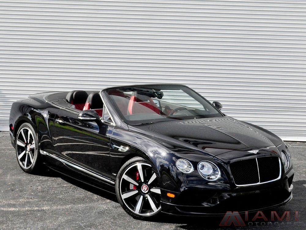 2016 Bentley Continental Gt Gtc V8 S Mulliner Spec Bentley Continental Gt 2016 Bentley Continental Gt Tractor Trailers