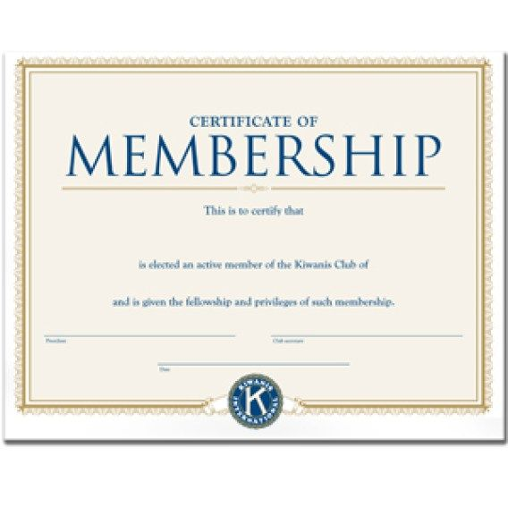 Membership Certificate template 222 Aztemplatesorg Pinterest - no objection certificate template