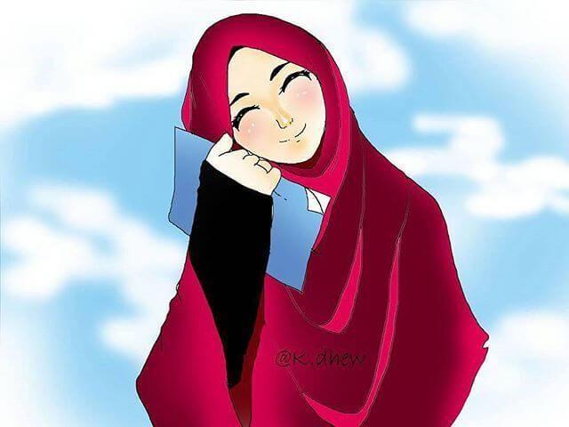 700+ Gambar Kartun Muslimah Terbaru 2019 Gratis Terbaik