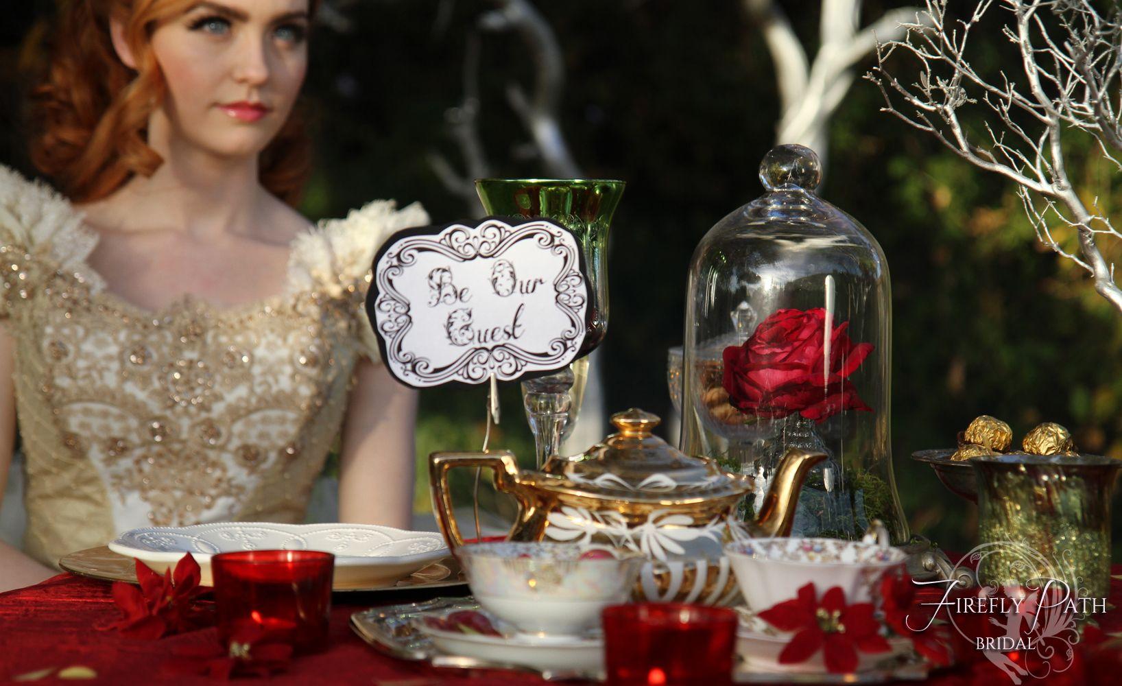 Beauty and the Beast Themed Wedding by Lillyxandradeviantartcom