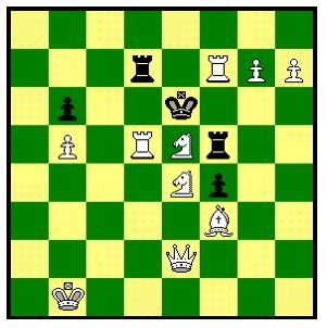 White to move and mate in 2 moves  Link to Classic Chess