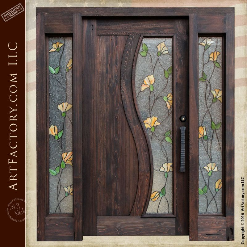 entrance door stained glass with side lights entry sidelights security and transom for sale replacement