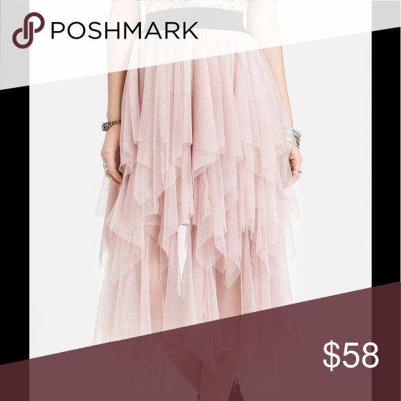 c8696b7d2c Spotted while shopping on Poshmark: Free People TUTTI FRUTTI Pink Tulle  Skirt! #poshmark #fashion #shopping #style #Free People #Dresses & Skirts