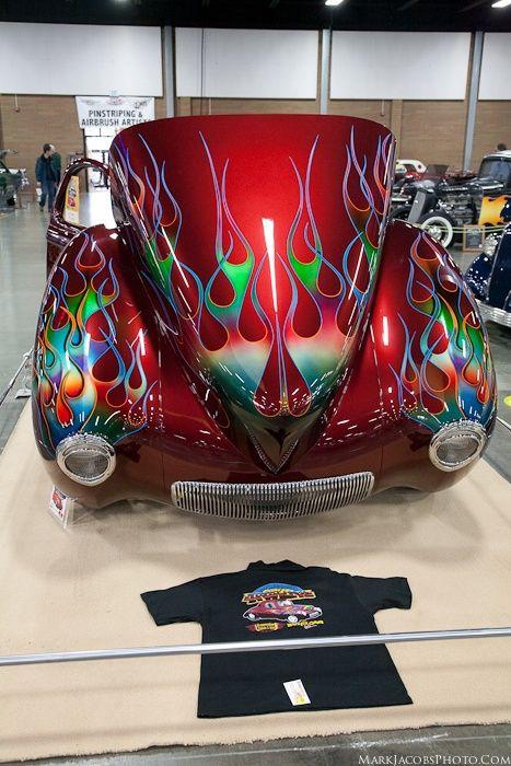 That's a flame job! 1941 Willys Gasser (tilt front) We insure custom cars with the proper insurance to cover your special needs get your Car Insurance in Eugene at House of Insurance....Call 541-726-5119