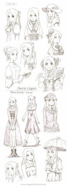 Como Desenhar Manga Roupas Femininas Ideias Esboco Como