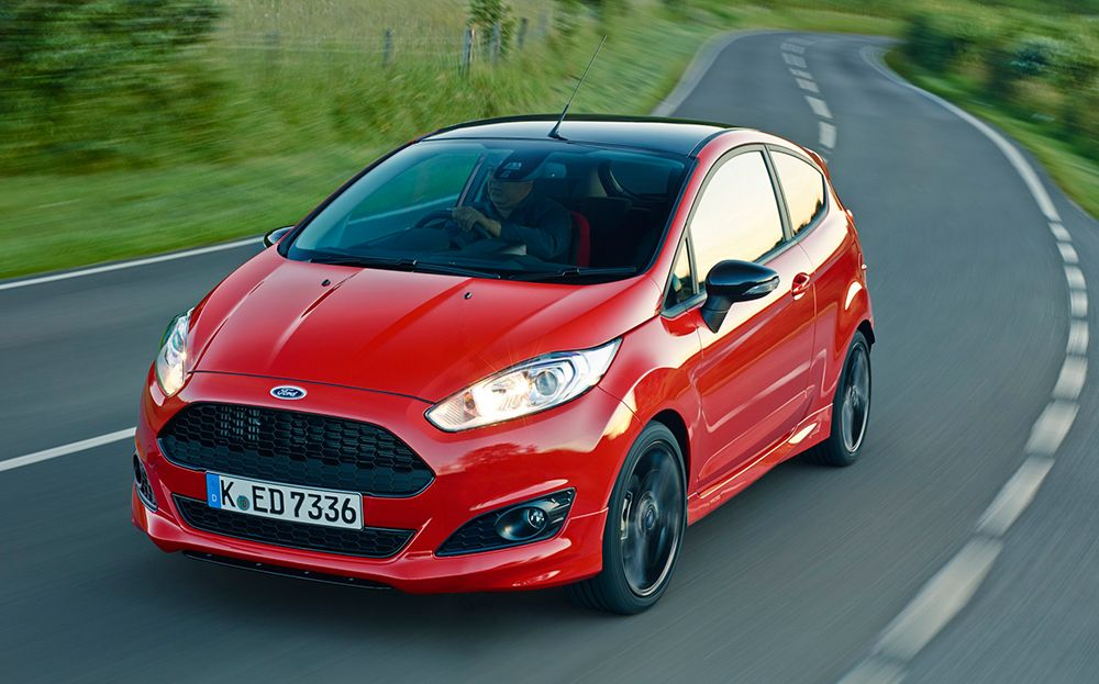 Ford Fiesta Zetec S Red And Black Editions Available At Days Fordfiesta