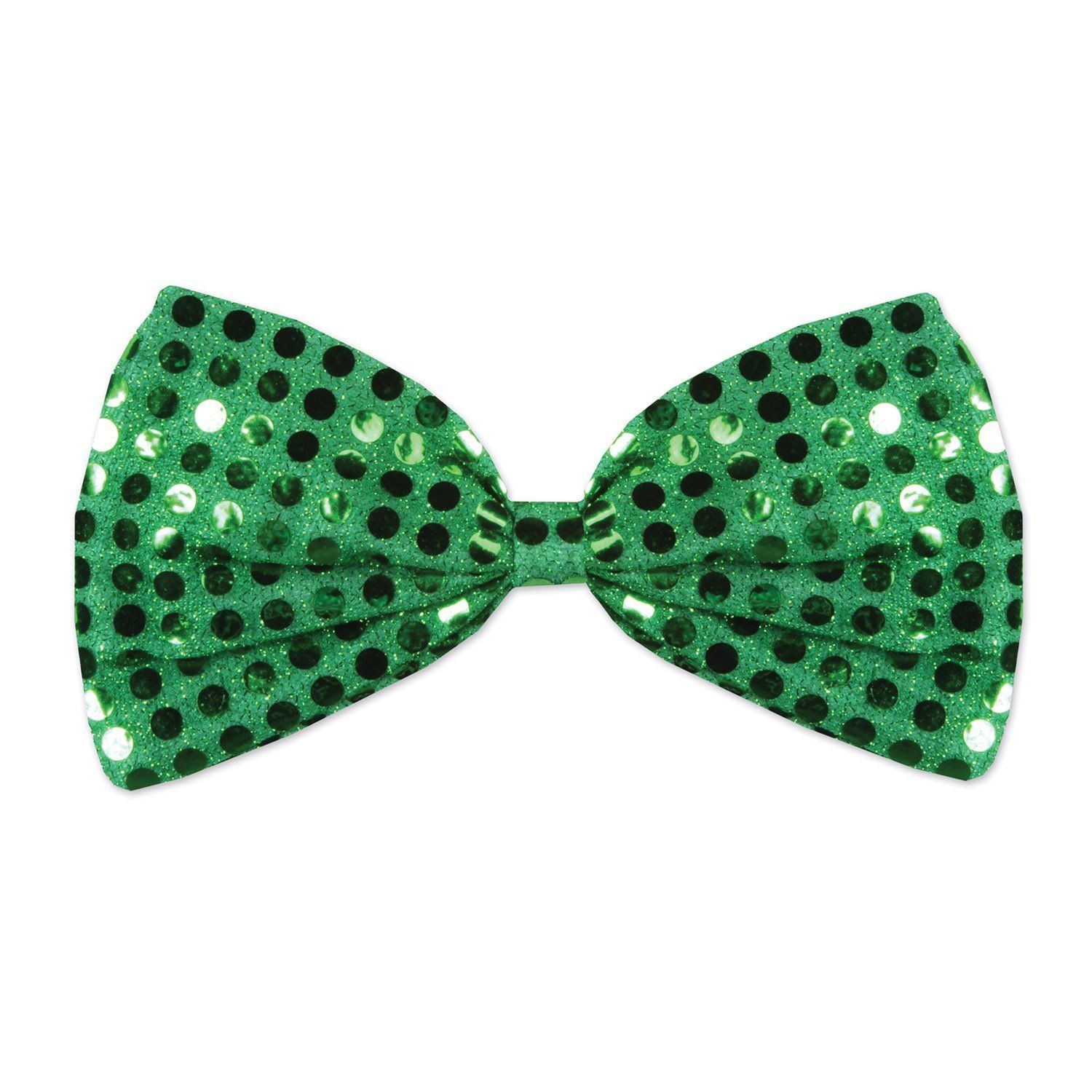 Green Glitz N Gleam Bow Tie