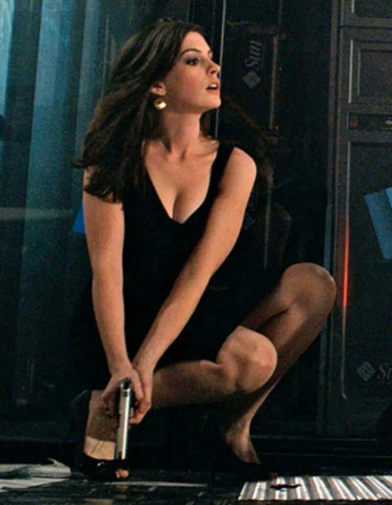 Anne Hathaway Agente Smart Casino Belleza