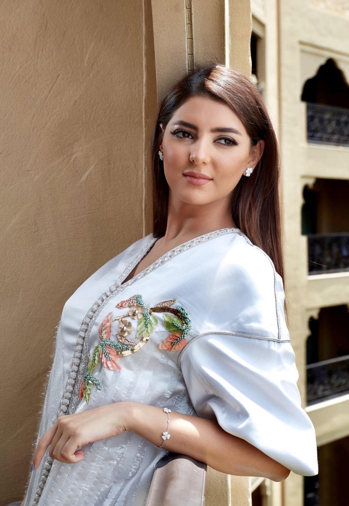 مريم سعيد من سلمى بن عمر Moroccan Caftan Moroccan Fashion Morrocan Dress