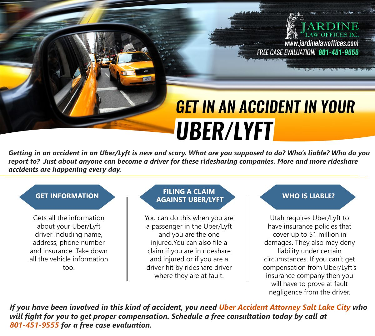 Uber Accident Attorney Salt Lake City (With images