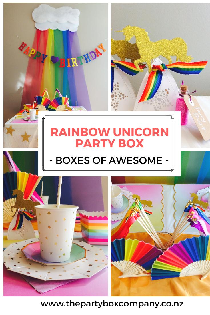 Rainbow Unicorn Party Rainbow Party Rainbow Unicorn Par The