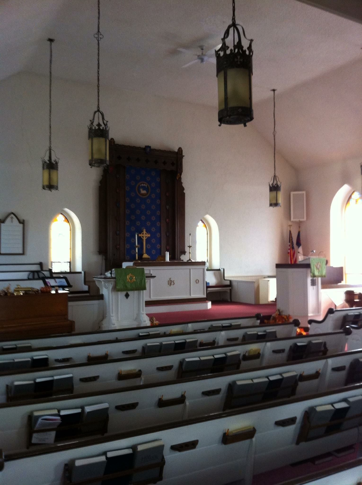 Ridge Valley Reformed United Church of Christ sanctuary