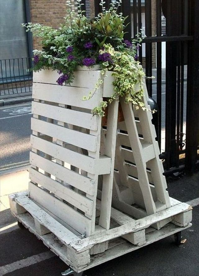 Garden Centre: Repurposed Ideas For Pallets