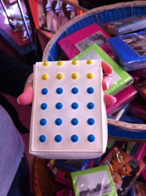 Flash from the past.  A Candy Button...Wallet!!  I remember these from my childhood!  Find at Cha Chas downtown.