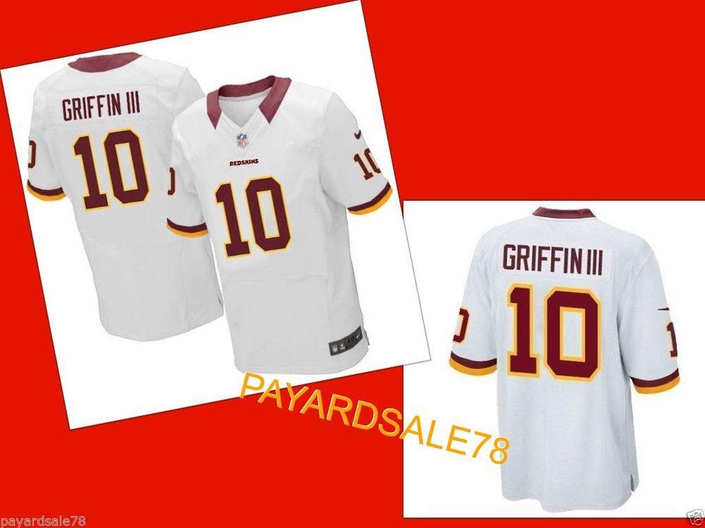 super popular aab9e 0fab1 NIKE 2XL FOOTBALL JERSEY GRIFFIN lll NFL WASHINGTON REDSKINS ...
