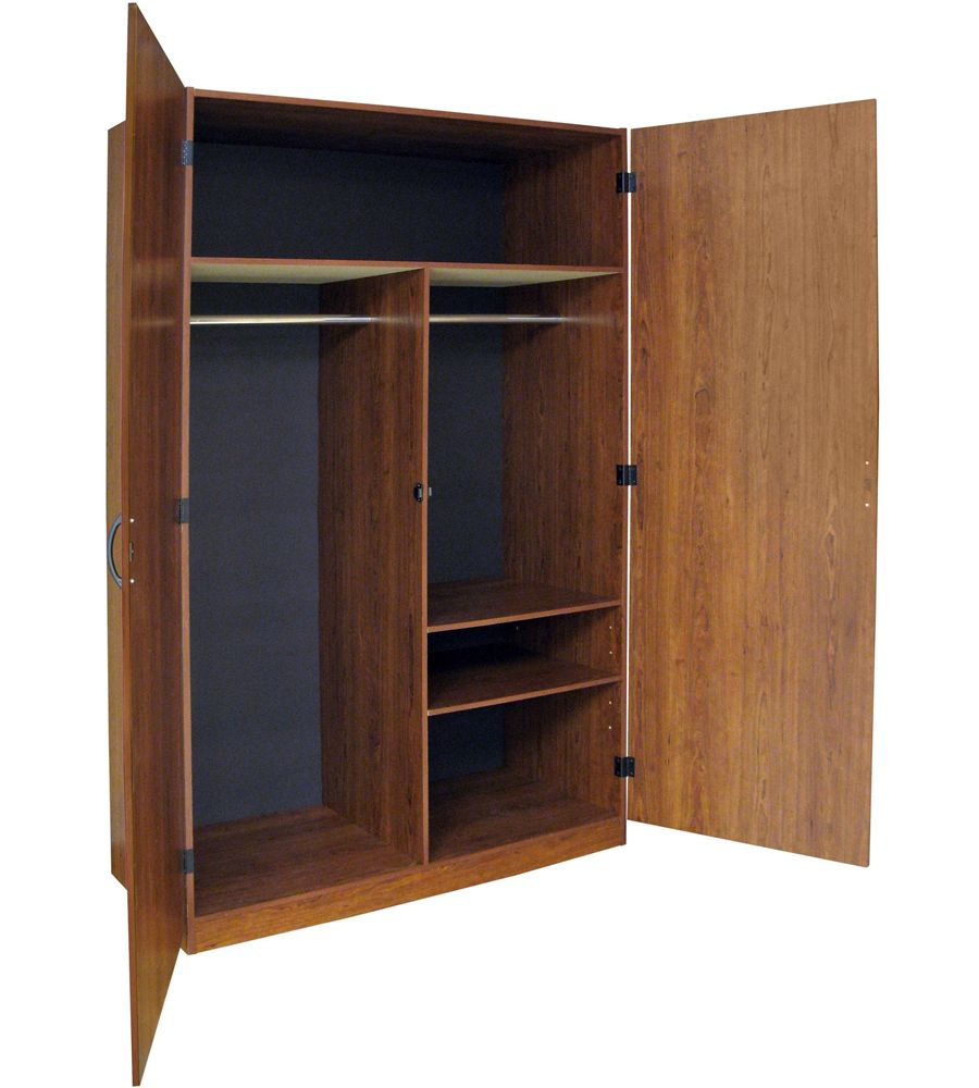 This Bedroom Wardrobe Cabinet gives you a simple way to add