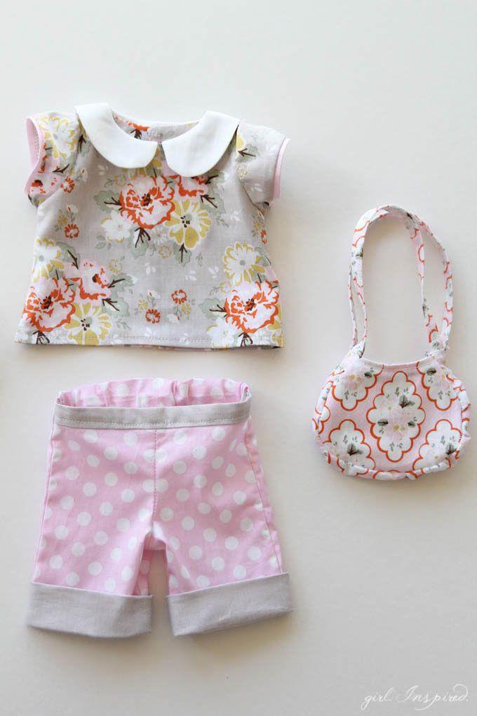 Doll Clothes Panel Tutorial | Muñecas, Ropa y Costura