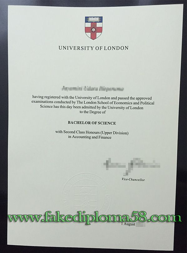 how much for a fake university of london degree skype