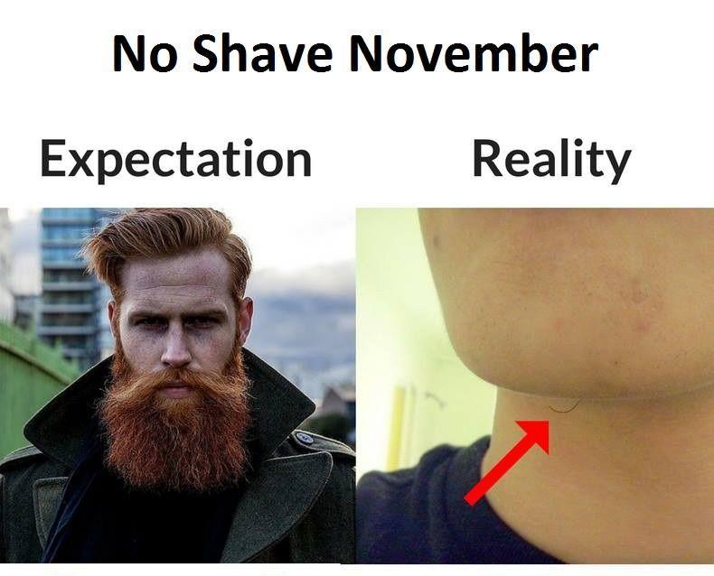 33a46b9a9d21810041ea97aaa0c5676b best 25 no shave november meme ideas on pinterest shaving humor,Beard Vs No Beard Meme