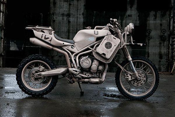 Icon 1000 Dromedarii Built From A Triumph Tiger A High Rolling