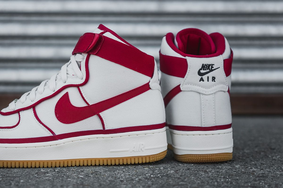 "new product 6536e 92f6b Nike Air Force 1 07 LV8 ""Vandal-ized"" - White   Gym Red"