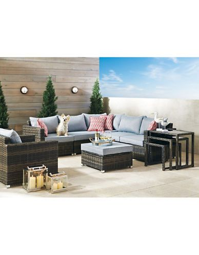 Home Newport Collection Sectional Conversation Set Hudson S Bay