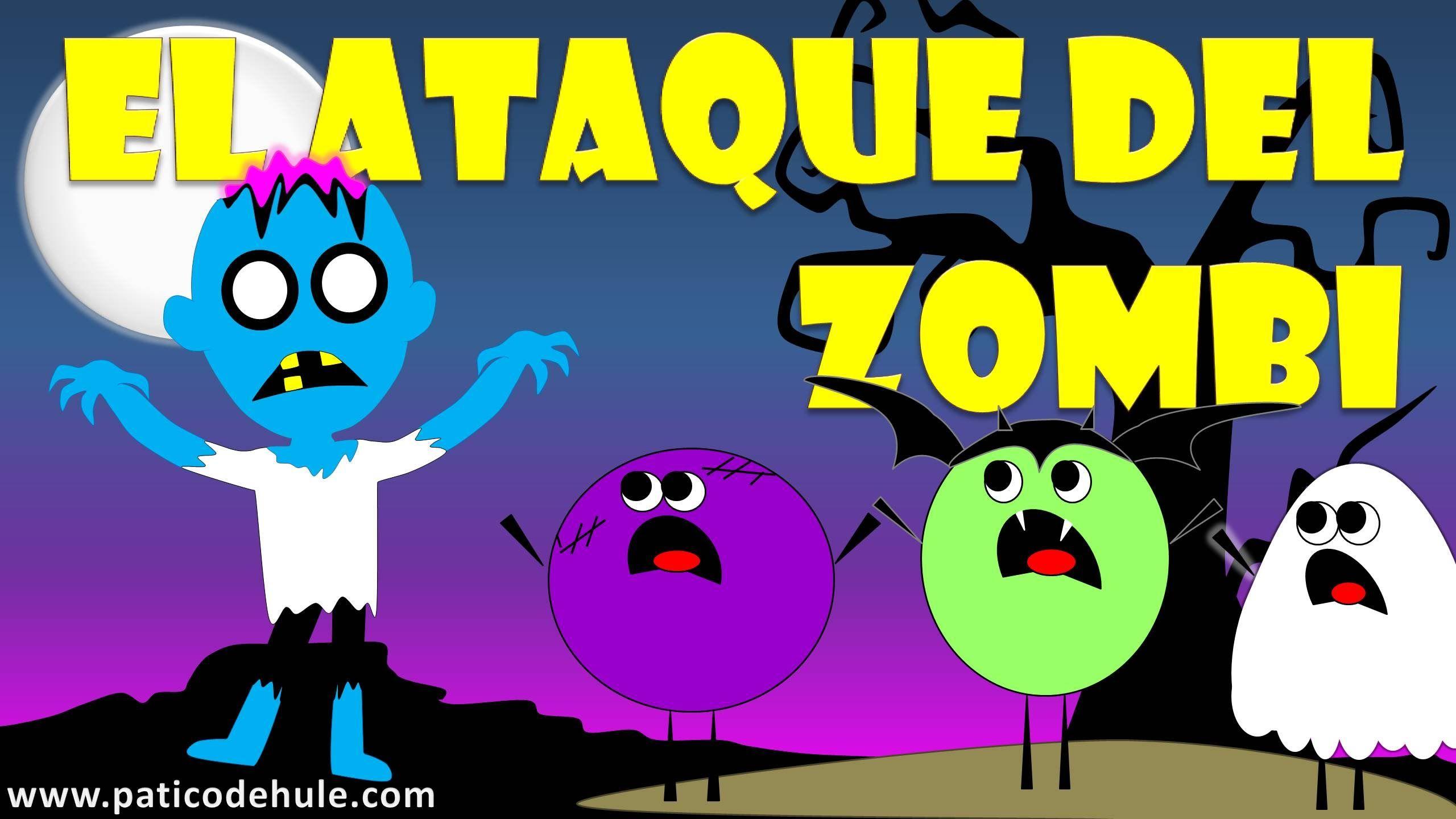 Cuento de Halloween para niños: El ataque del Zombi - Halloween Temporada 3
