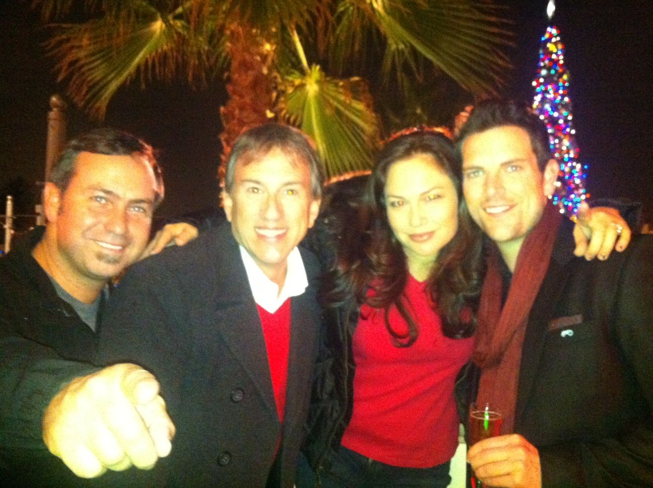 KOST 103.5 FM Holiday Party at Disney California Adventure ...