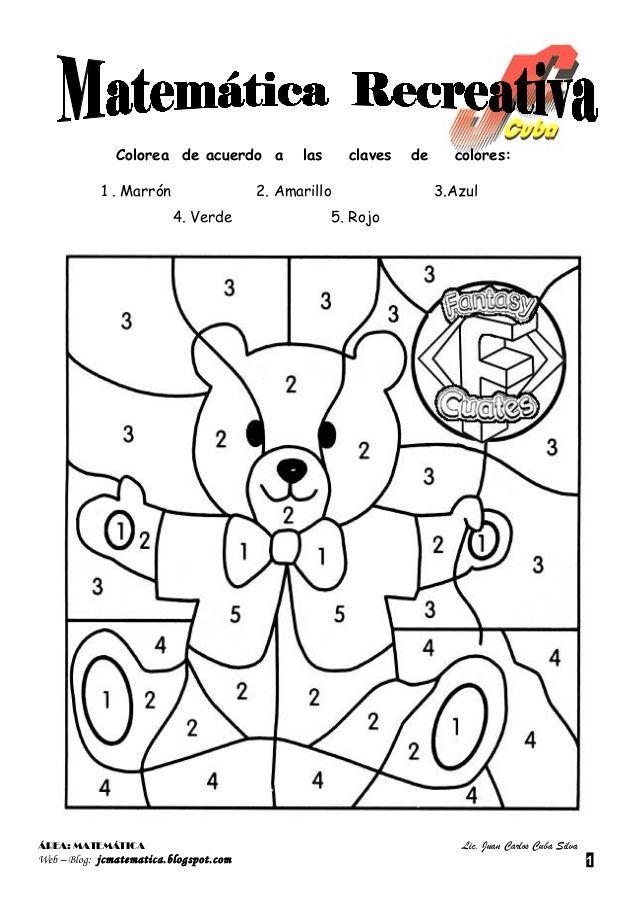 Matematica Recreativa Para Ninos Tareas Para Ninos Ninos De Preescolar Actividades Para Ninos Preescolar