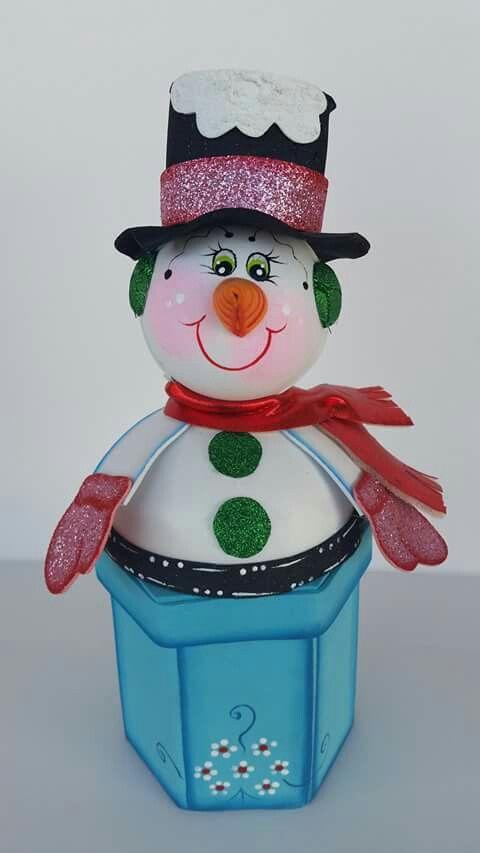 guarda cositas fofuchas Pinterest Cosas, Navidad y Goma eva