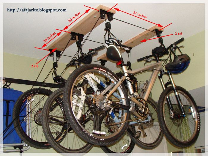 Installing A Ceiling Mount Bike Lift