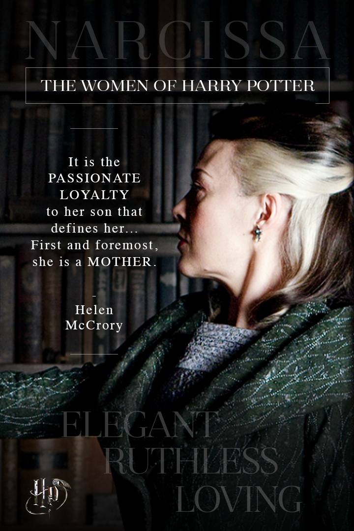 Helen Mccrory On Narcissa Malfoy Celebrate International Women S Day With Quotes From The Wom Harry Potter Narcissa Harry Potter Characters Harry Potter Cast