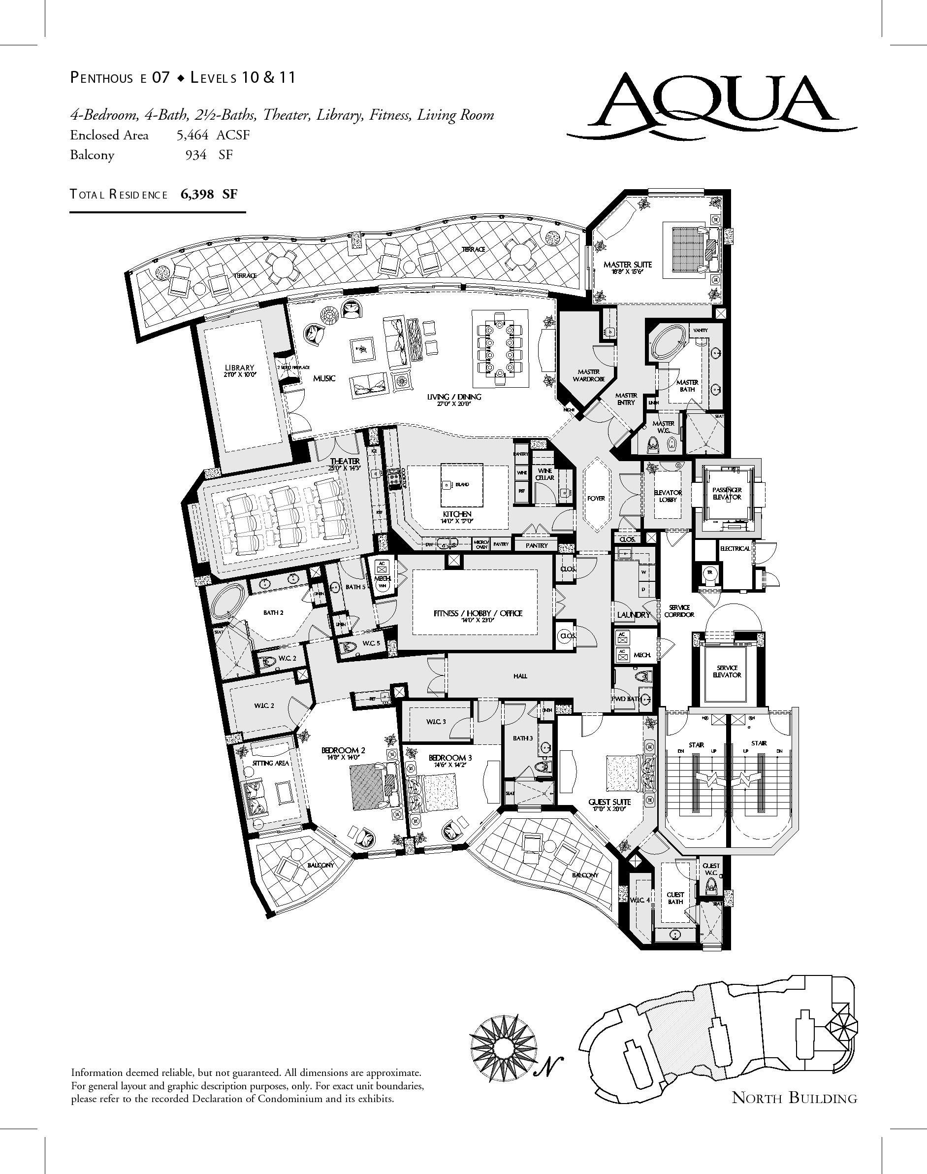 Luxury Penthouse Plans