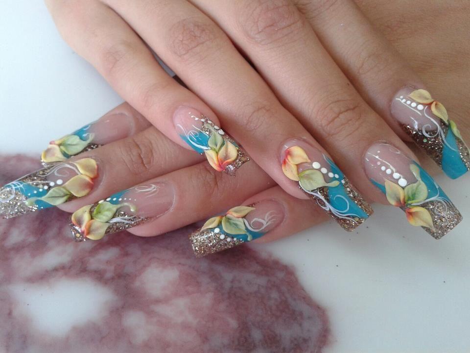 Pin de Alida basurto en Uñas   Arte de uñas de gel, Uñas ...